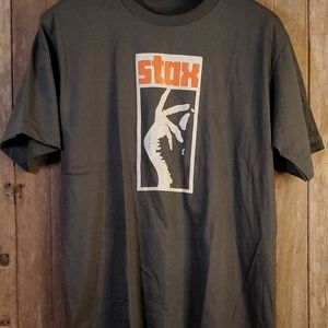 Stax Men's Large Super Soft Band T Shirt